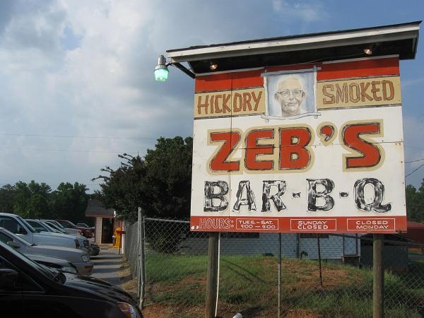 Zeb's Bar-B-Q, DanielsvilleGA