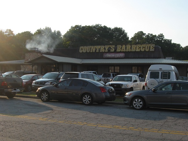 Country's Barbecue, Columbus GA