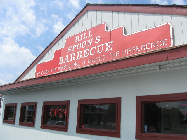Bill Spoon's Barbecue, Charlotte NC