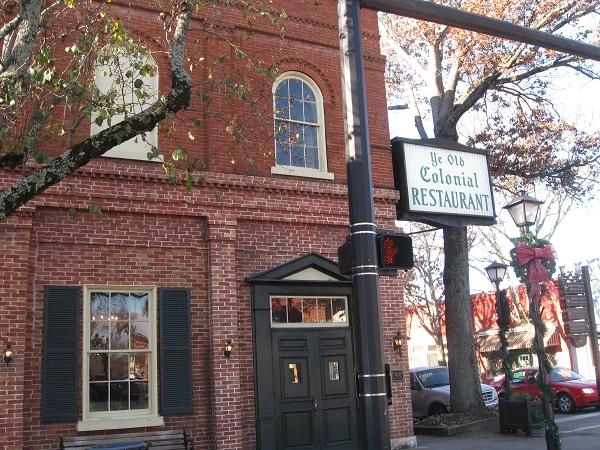 Ye Olde Colonial Restaurant, Madison GA(CLOSED)
