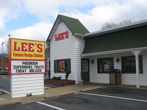 Lee's Famous Recipe Chicken, Rock Hill SC