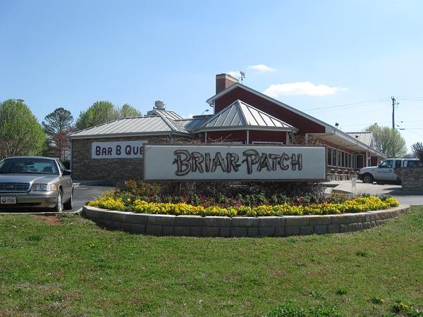 Briar Patch Restaurant, HiramGA