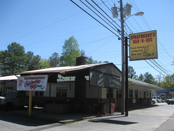 Sprayberry's Barbecue, Newnan GA
