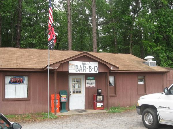 Bill's Bar-B-Q, HullGA