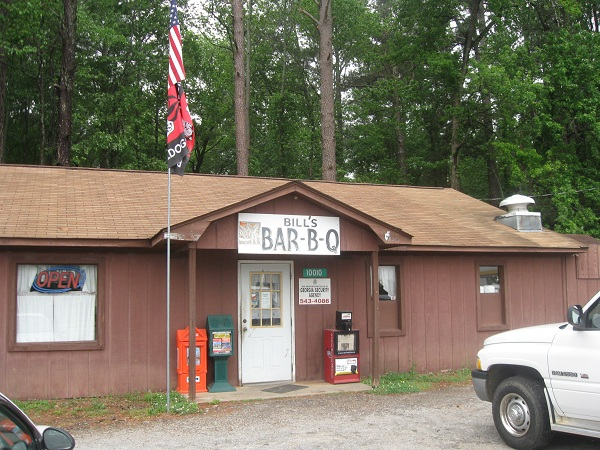 Bill's Bar-B-Q, Hull GA