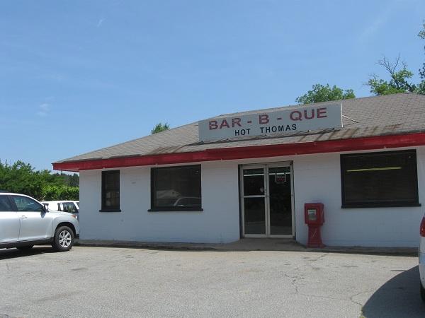 Hot Thomas Barbecue, WatkinsvilleGA