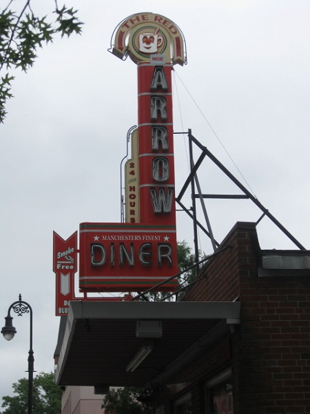The Red Arrow Diner, Manchester NH