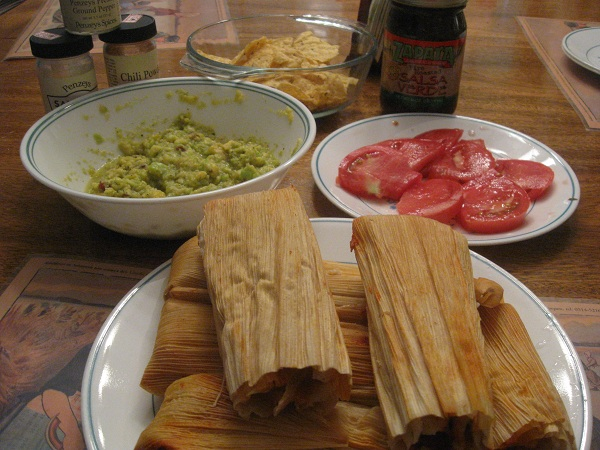 Pork Tamales from Zocalo