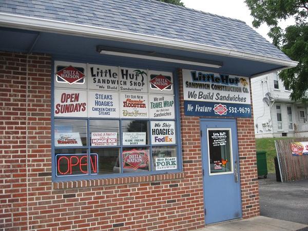 Little Hut Sandwich Shop, PhiladelphiaPA