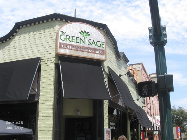 The Green Sage, Asheville NC