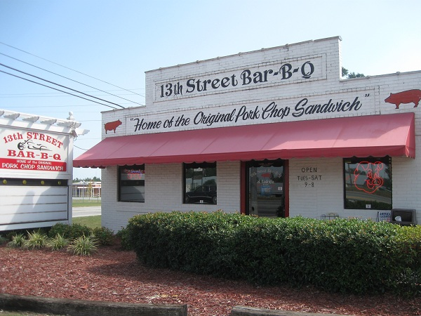 Mike & Ed's Bar-B-Que and 13th Street Bar-B-Q, Phenix City AL