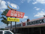 Old Clinton Bar-B-Q, Gray GA and The Whistle Stop Cafe, Juliette GA