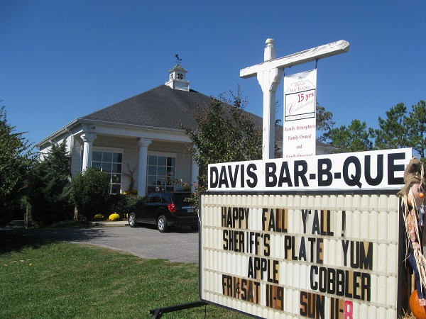 Davis Bar-B-Que, JasperGA