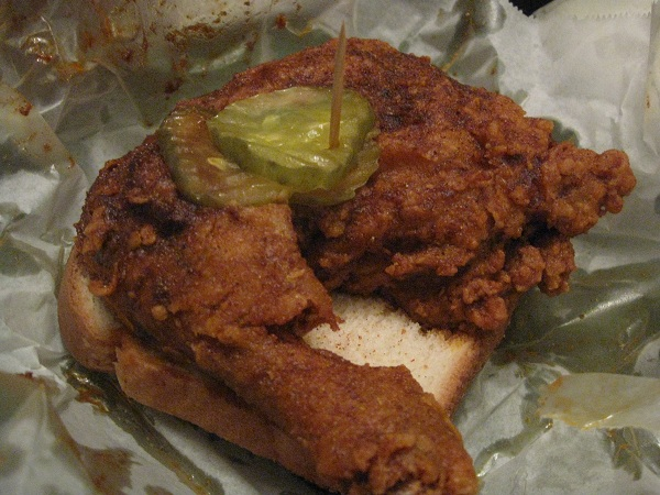 Prince's Hot Chicken Shack and Pied Piper Creamery, Nashville TN