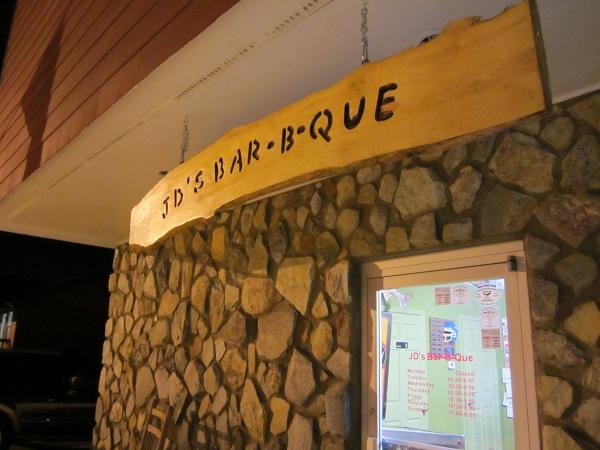 JD's Bar-B-Que, WoodstockGA