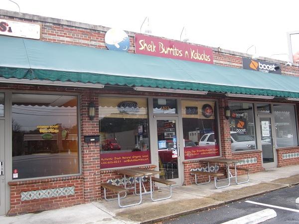 Sheik Burritos n Kabobs, Atlanta GA (CLOSED)