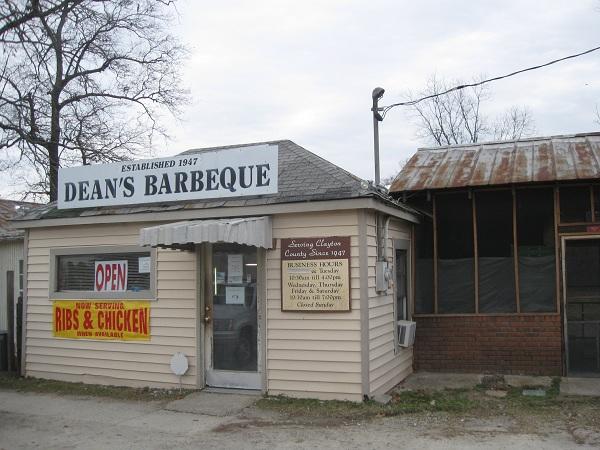 Dean's Barbeque, JonesboroGA