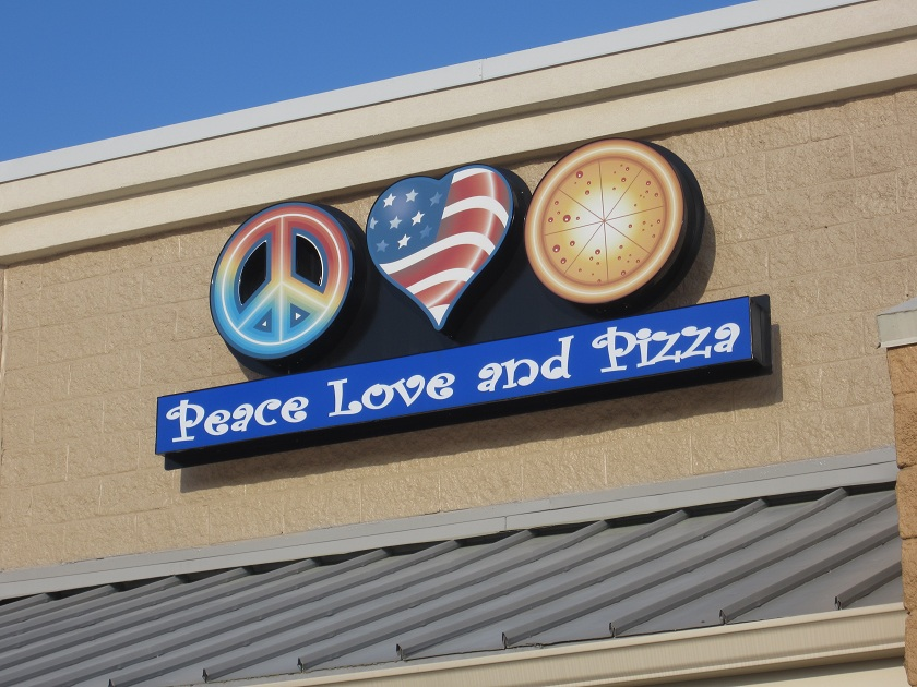 Peace Love and Pizza, Kennesaw GA(CLOSED)