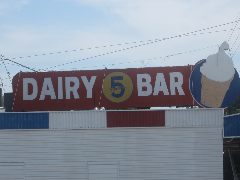 Two Dairy Bars in Northeast Bama
