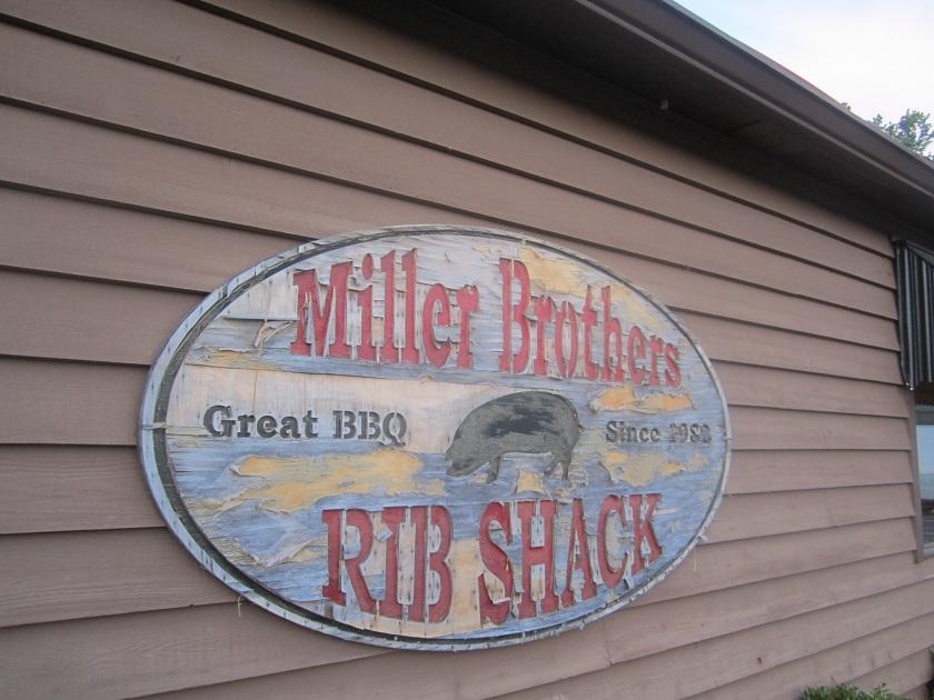 Miller Brothers Rib Shack, DaltonGA