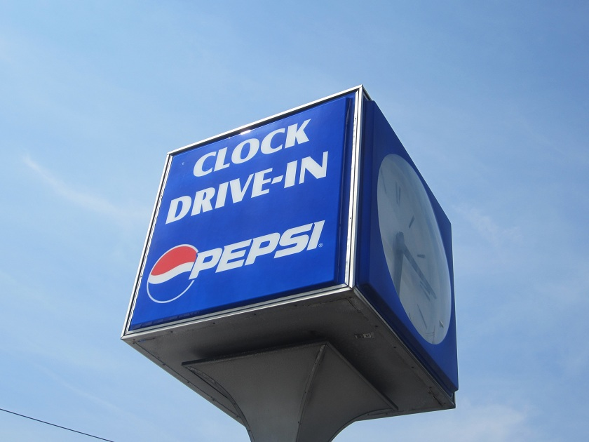 Clock Drive-In, Greenville SC