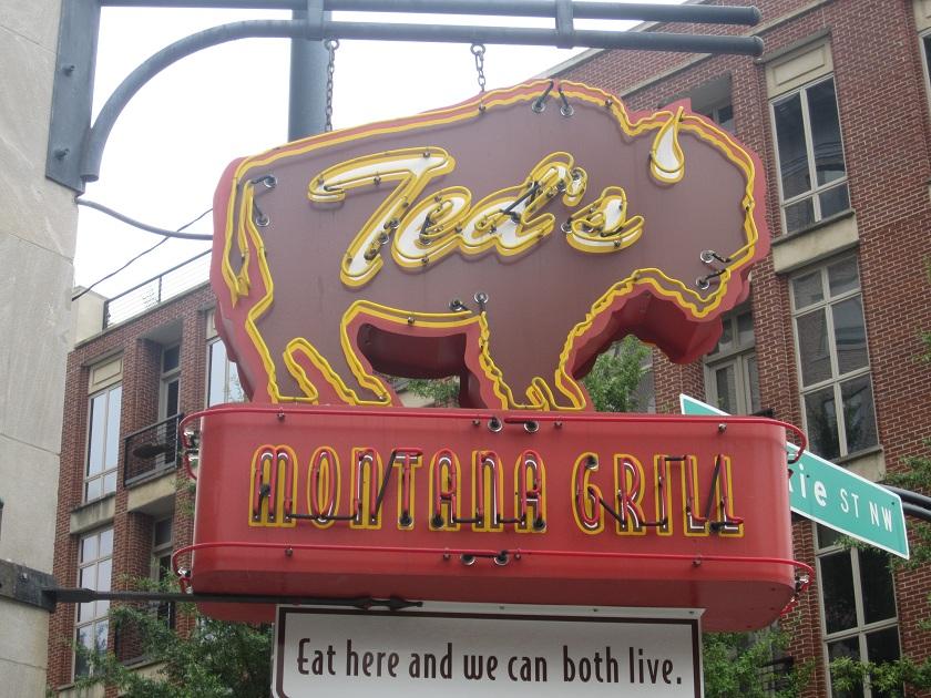 Ted's Montana Grill, AtlantaGA