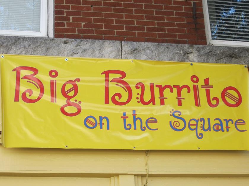 Big Burrito on the Square, Marietta GA(CLOSED)