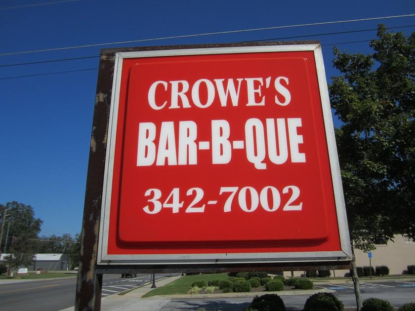 Crowe's Bar-B-Que, MadisonGA