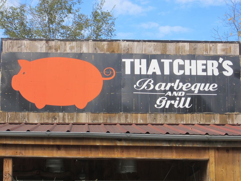 Thatcher's Barbeque and Grill, Trenton GA