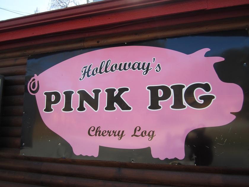 Pink Pig, Cherry LogGA