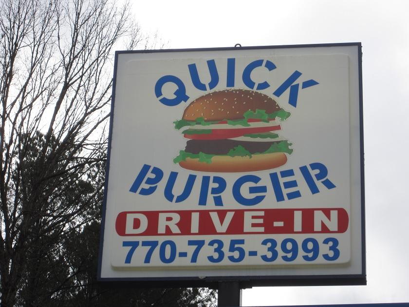 Quick Burger, JasperGA