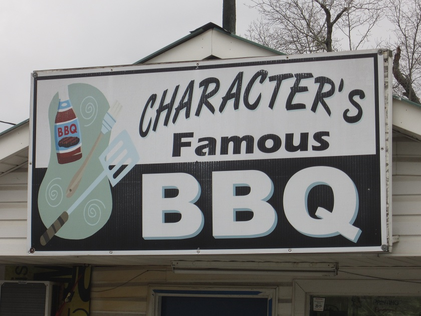 Character's Famous BBQ, Adairsville GA