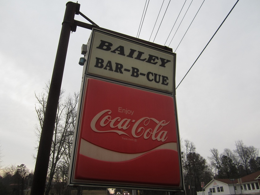 Bailey's Bar-B-Cue, Ringgold GA