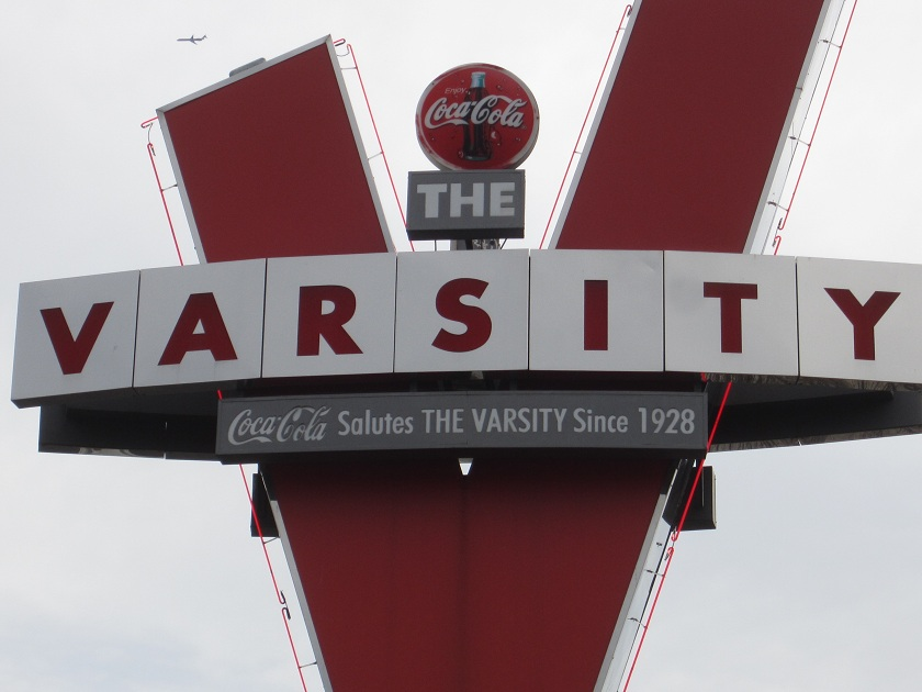 Photo Post 9: The Varsity, Atlanta GA