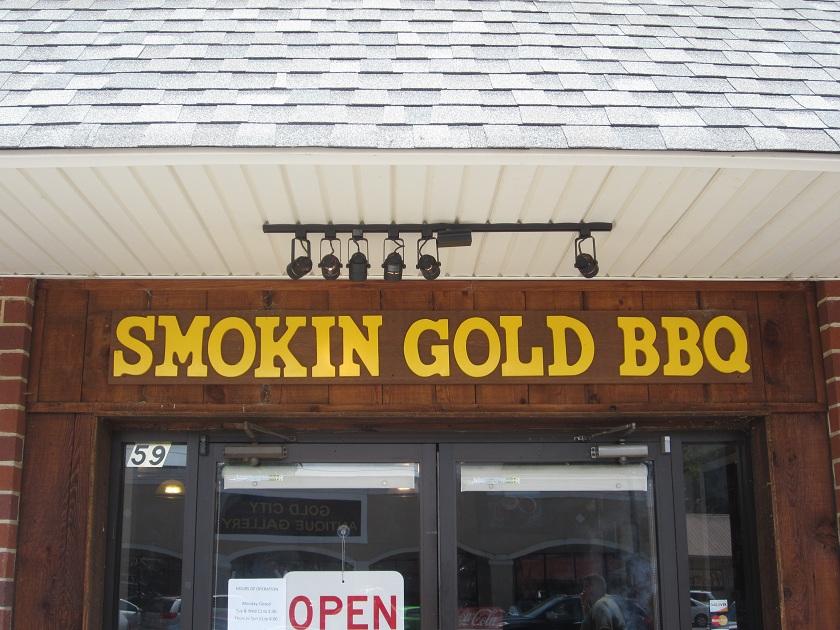Smokin' Gold BBQ, DahlonegaGA