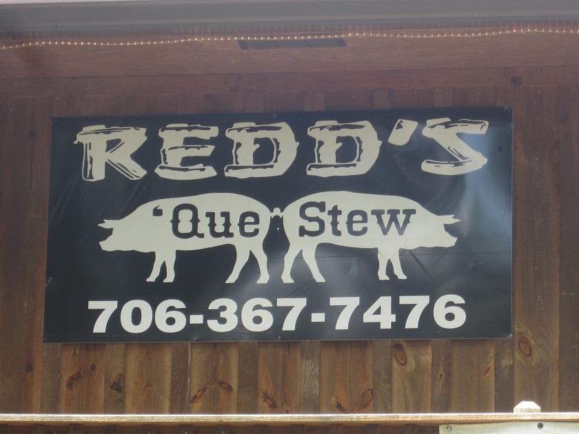 Redd's Que & Stew, JeffersonGA