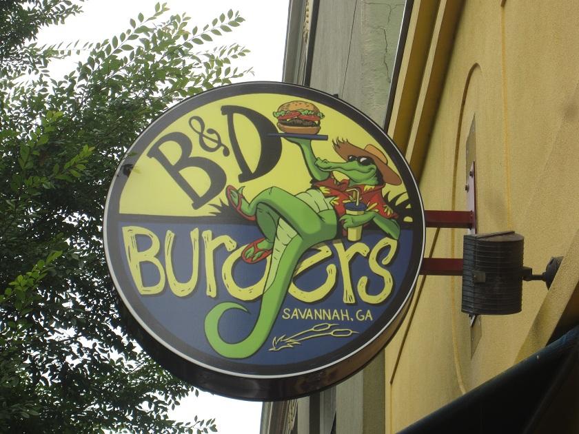 B & D Burgers, SavannahGA