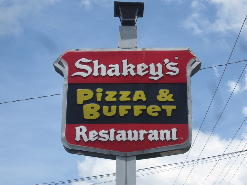 Shakey's Pizza, Warner Robins GA (CLOSED)