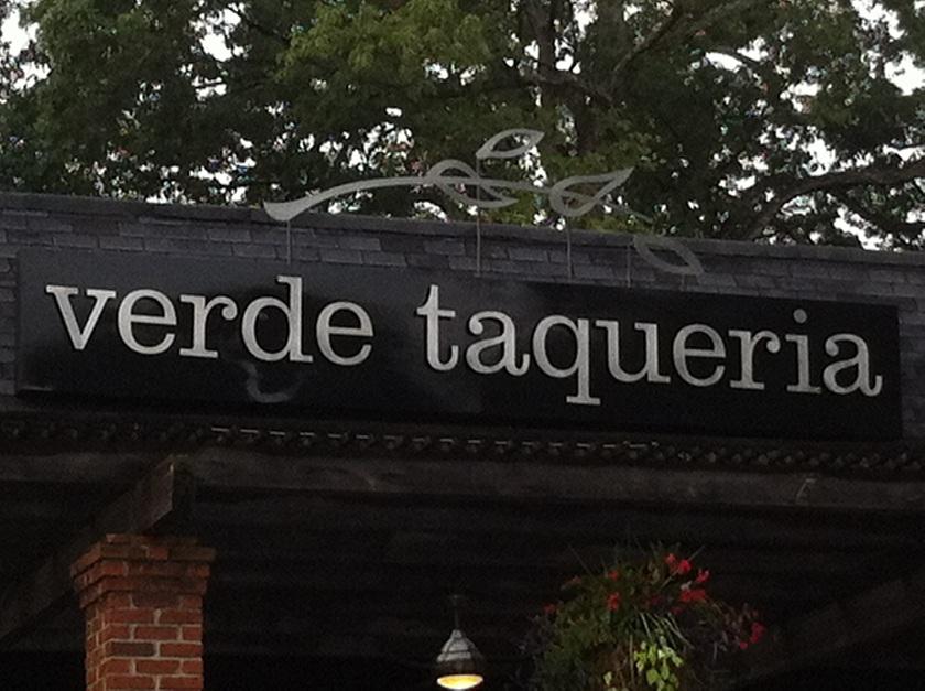 Verde Taqueria, AtlantaGA