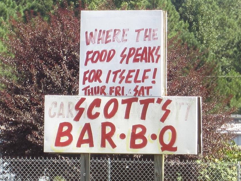 Scott & BJ's Bar-B-Q, AthensGA