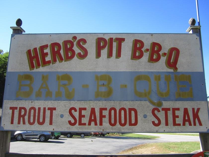 Herb's Pit BBQ, MurphyNC