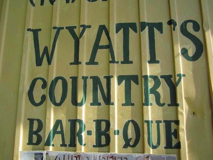 Wyatt's Country Bar-B-Que, AtlantaGA