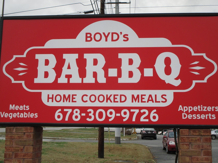 Boyd's Bar-B-Q, Smyrna GA (CLOSED)