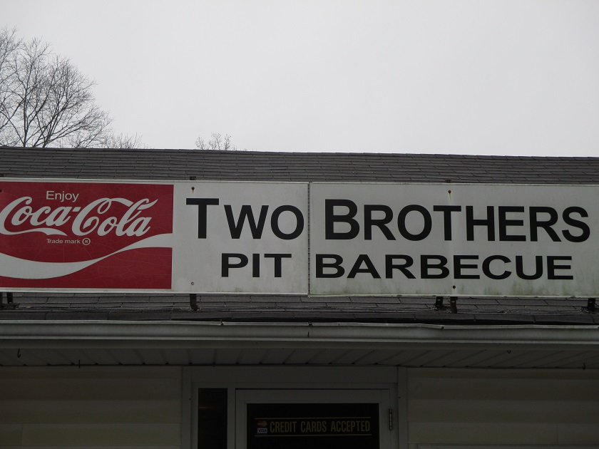 Two Brothers Pit Barbecue, Ball Ground GA (take two)