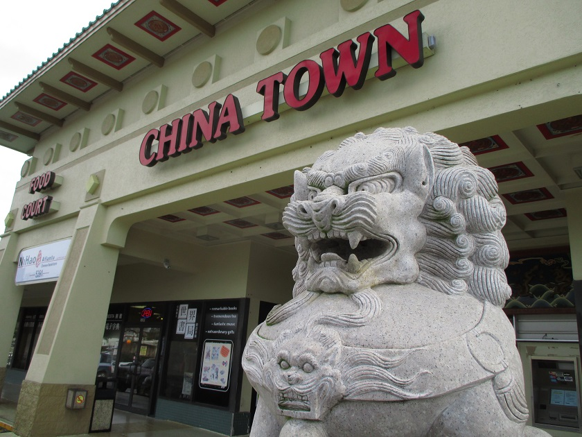 The Chinatown Mall Food Court, Chamblee GA