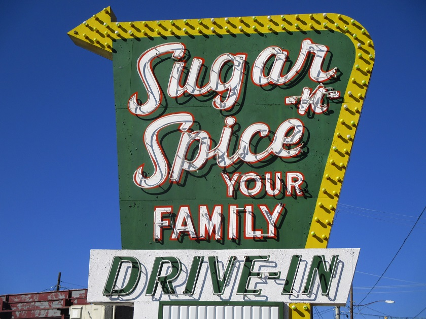 Sugar -n- Spice Drive-In, Spartanburg SC