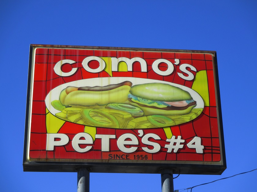 Como's Pete's No. 4, Greenville SC
