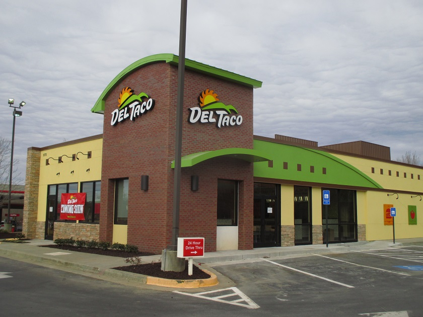 Turkey Tacos at DelTaco