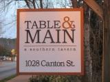 Table & Main, RoswellGA