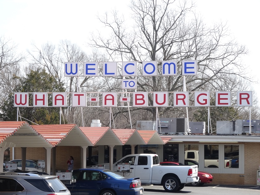 What-a-Burger, Mooresville NC